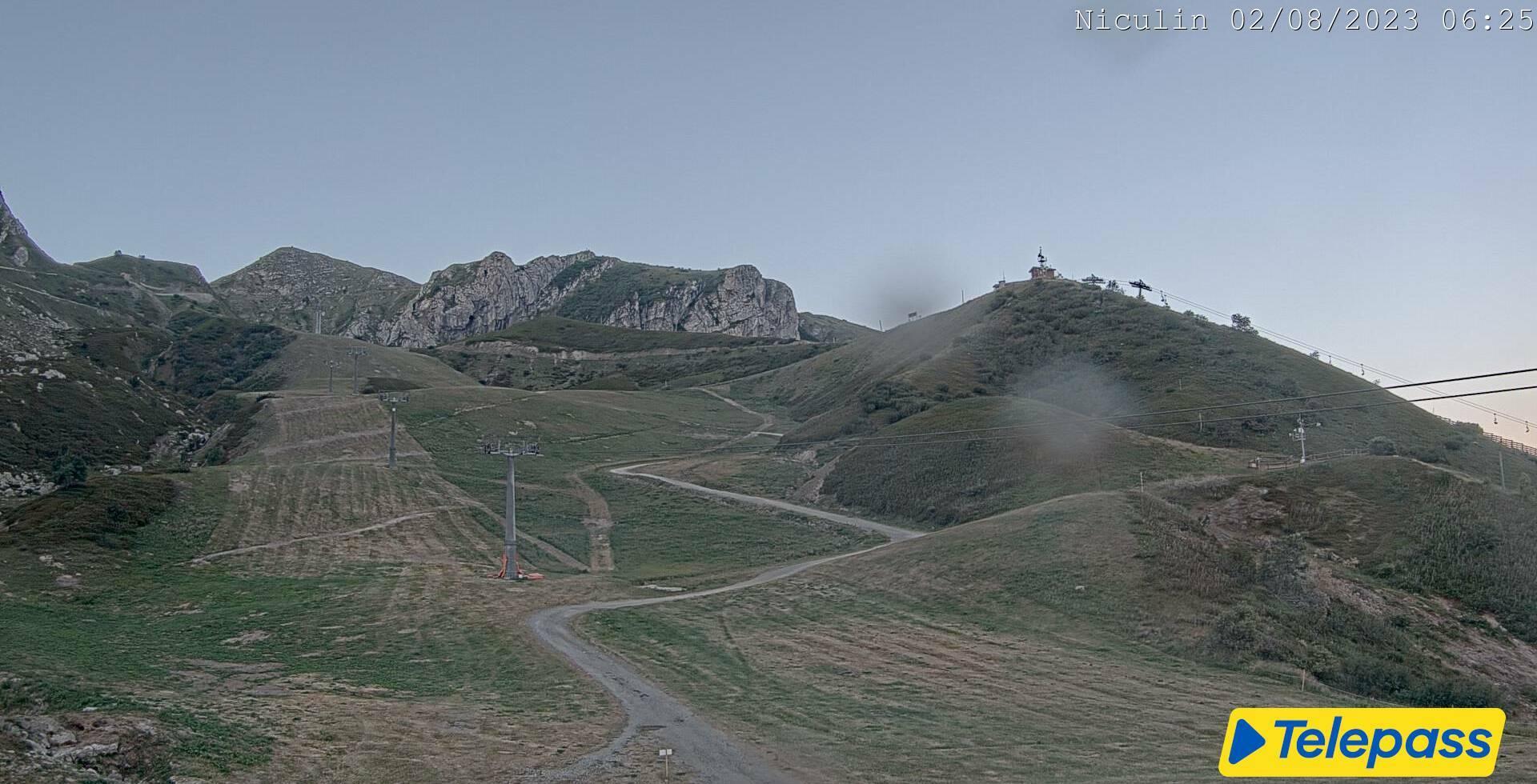 Limone Piemonte webcam - Niculin slope